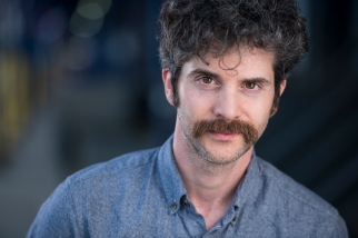 Mike Spara mustachioed. Christian Webb Photography